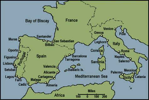 southern europe map maps of europe countries southern europe region maps details picture