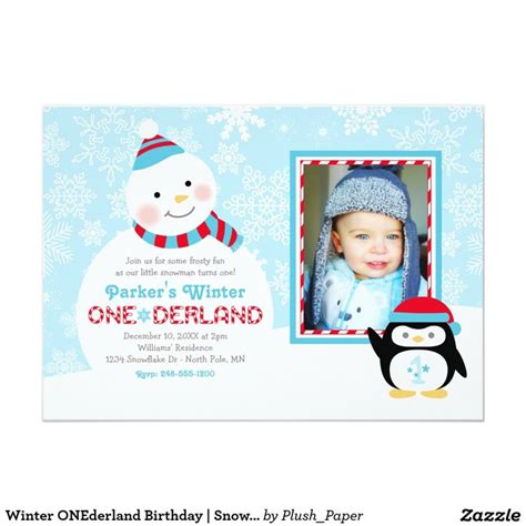 birthday card template winter onederland winter onederland birthday snowman and penguin card
