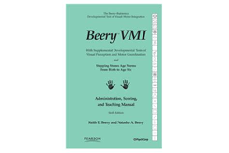 beery vmi sle report beery buktenica developmental test of visual motor