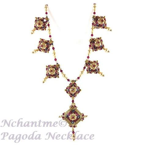 pagoda necklace pattern for instant