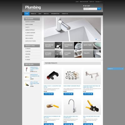 shopify themes bootstrap plumbing shopify themes templatemonster