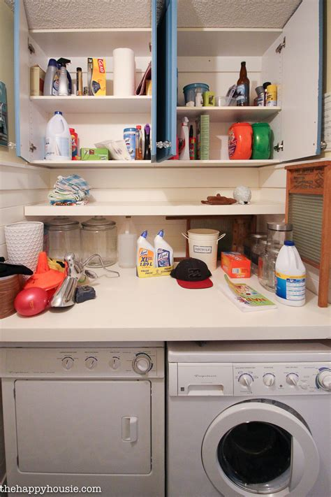 how to organize a laundry room how to completely organize your laundry room in three easy steps the happy housie