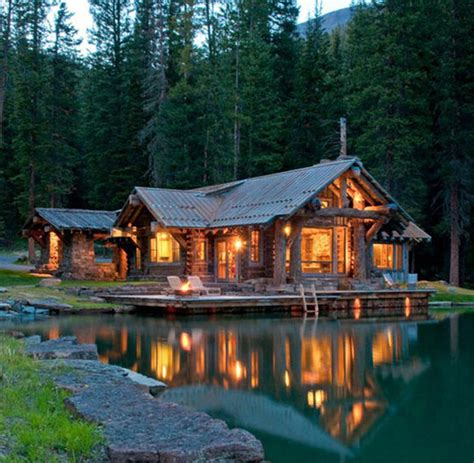 Woods Lake Cabins by Cozy Cabin In The Woods The Meta Picture