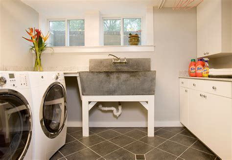 Basement Renovation   Traditional   Laundry Room   boston   by Charlie Allen Renovations, Inc.