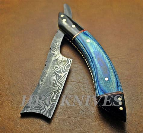 Handmade Razors - damascus razor blade mens handmade shaver dg3