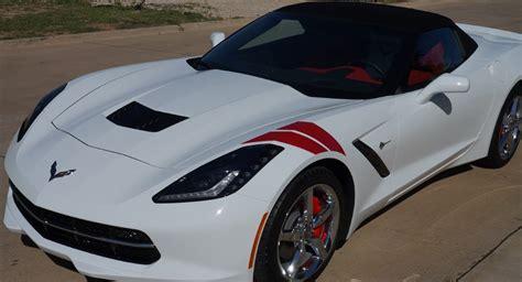 corvette fender stripes c7 corvette stingray z06 grand sport 2014 grand sport