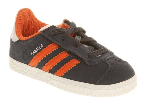 Adidas Gazel Navy In Orange adidas gazelle jr navy orange ebay