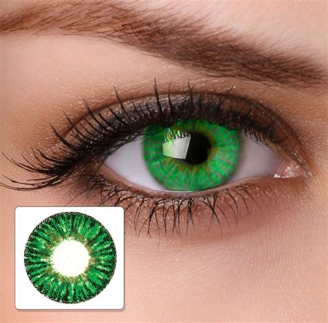 green colored contact lenses lime green contact lenses gallery