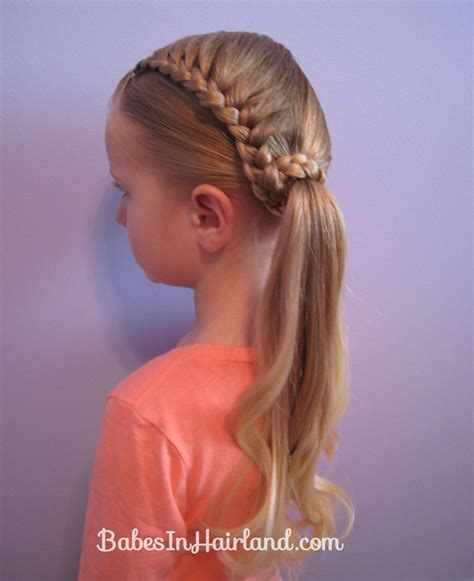 how to do easy back to school braid hairstyles for long lauren conrad inspired half french braid wrapped