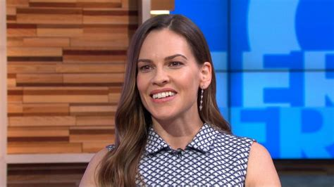 Hilary Swank Opens Up by Hilary Swank Opens Up About Return To Tv Abc News