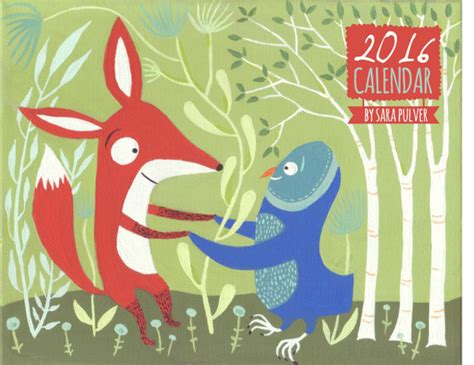 Wonderfully Whimsical Calendars by Reduced 2016 Wall Calendar By Pulvern Cats Dogs Owls