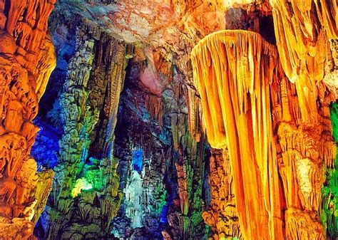 reed flute cave china travel ideas tips best underground lakes in china and