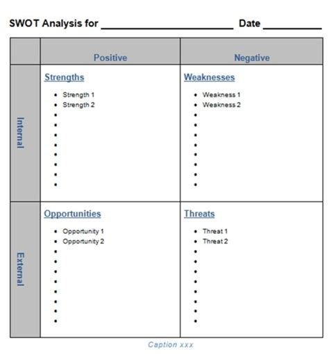 downloadable will template downloadable and downloadable blank swot analysis template