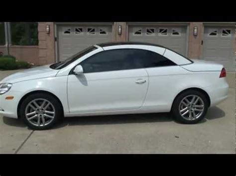 volkswagen convertible eos white 2008 volkswagen eos 2 0t hard top convertible for sale see
