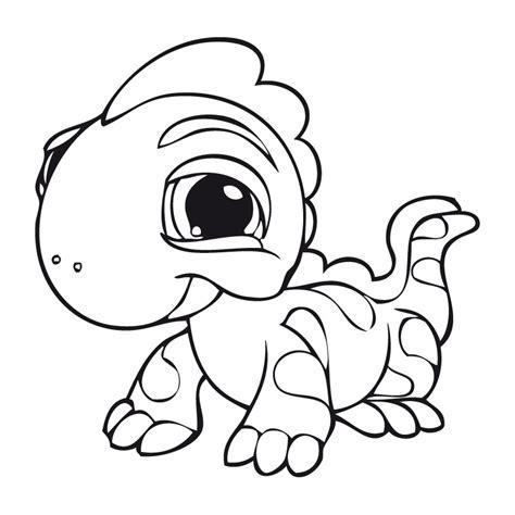 cute iguana coloring page lagartija alegre dibujalia dibujos para colorear