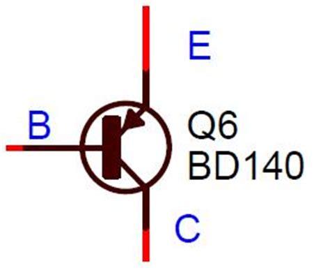 breadboard circuit symbol bd140 transistor clipart best clipart best