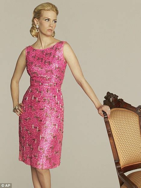 betty draper pink dress snap fashion