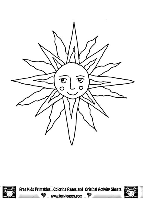 sun  moon coloring pages coloring home