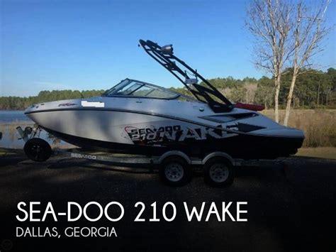 boats for sale in dallas area sold sea doo 210 wake boat in dallas ga 102998