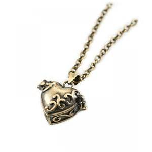 box lockets bronze pill box locket necklace