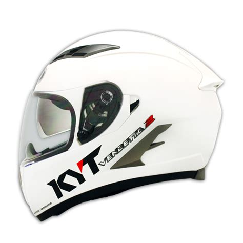 Kyt K2 Rider Black White helm kyt vendetta images