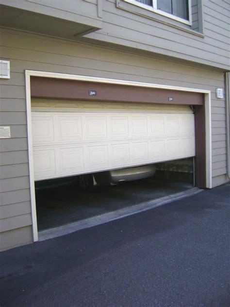 garage door photo eye bypass