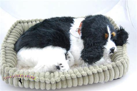 lifelike puppy cocker spaniel like stuffed animal breathing petzzz ebay