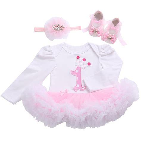 birthday girl tutu set newborn clothing ruffle baby