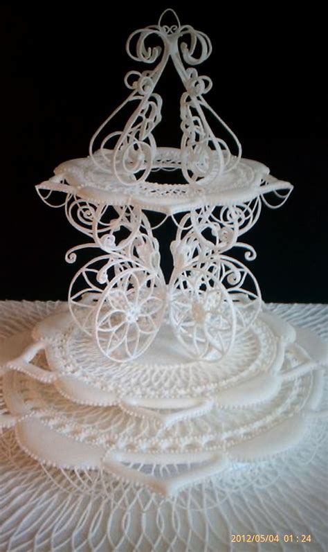 Filgree Royal Icing Tree Made 644 Best Images About Lambeth Style Cakes On