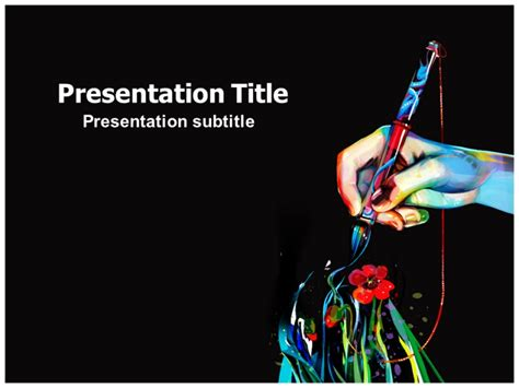 Powerpoint Presentation Templates For Art | art powerpoint ppt templates powerpoint template for