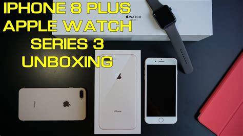 iphone 8 plus apple series 3 unboxing