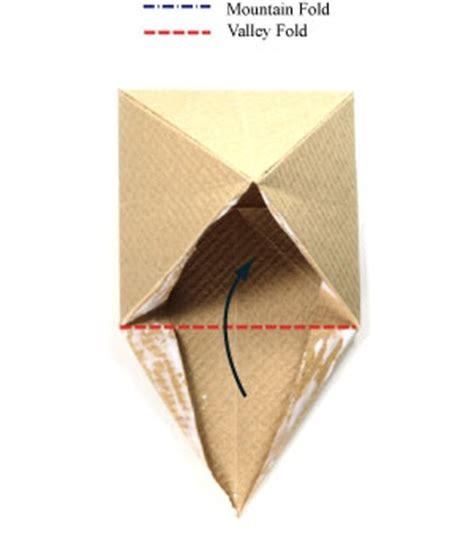 Great Origami - how to make a great origami pyramid with base page 11