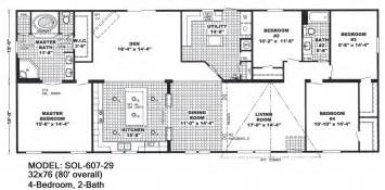 Floor Plans For Mobile Homes Double Wide by Most Recommended Double Wide Mobile Homes Prefab Homes