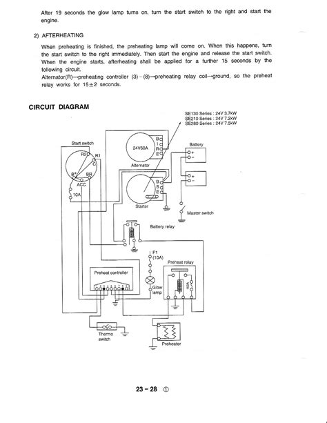 24 volt alternator wiring diagram komatsu dozer free