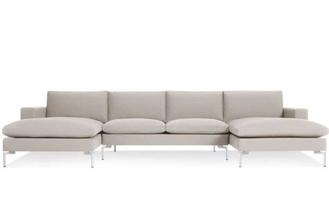 sectional couche new standard u shaped sectional sofa hivemodern com