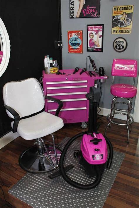 original pink box pink shop vac kadillac barbies