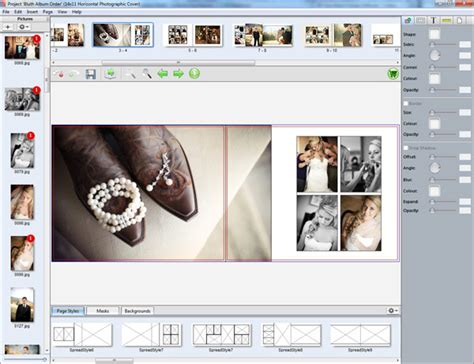 photo book layout design software book designer from collages net shutterbug