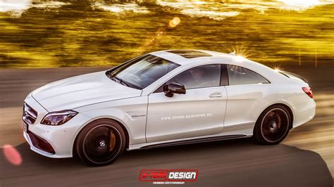 the mercedes cls 63 amg two door coupe that will