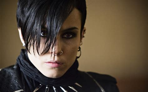 noomi rapace girl with the dragon tattoo a look into lisbeth salander and the with the