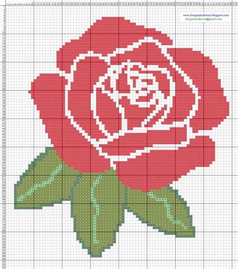 imagenes flores en punto de cruz dibujos punto de cruz gratis flores