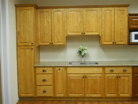 honey kitchen cabinets dayton birch sable dark stained wood shaker kitchen