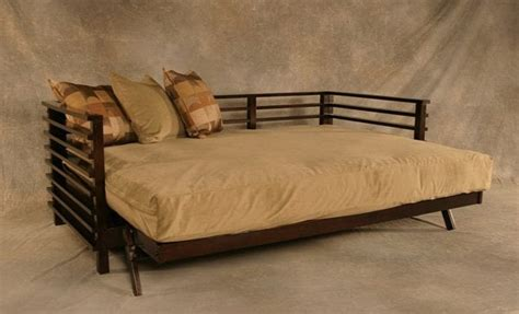 Japanese Futon Bed Frame by Modern Style Futon Frame In Bed Position Yelp