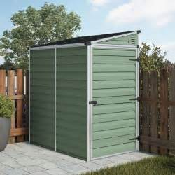 6ft X 4ft Shed by Winchester 6ft X 4ft Green Plastic Pent Shed Next Day Delivery Winchester 6ft X 4ft Green