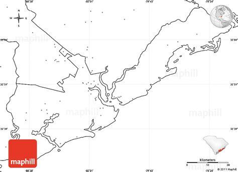 blank map south carolina blank simple map of charleston county no labels