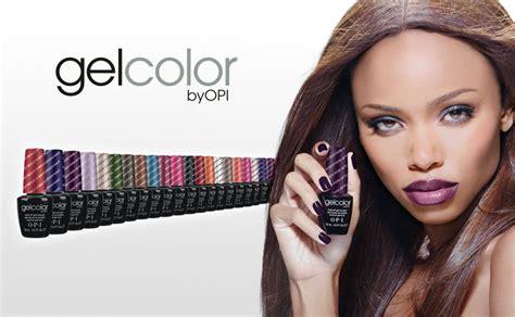Gel Nagellak Opi by Gelcolor O P I Chez Make Up Nails Les Couleurs Mythiques O