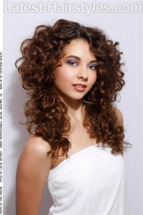 Summer Hairstyles Long Curly Hair | 24 fun cute long hairstyles for summer