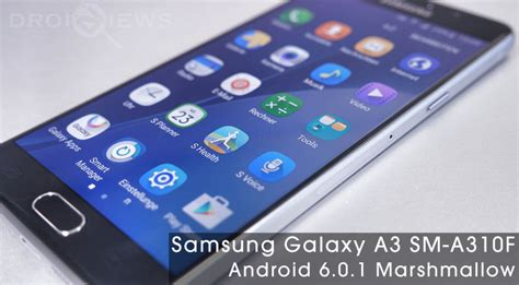 samsung themes marshmallow install marshmallow firmware on samsung galaxy a3 sm a310f