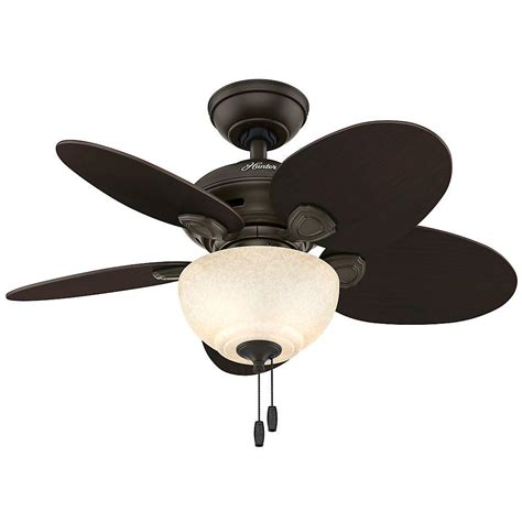 bronze ceiling fan with light 34 in indoor bronze ceiling fan with