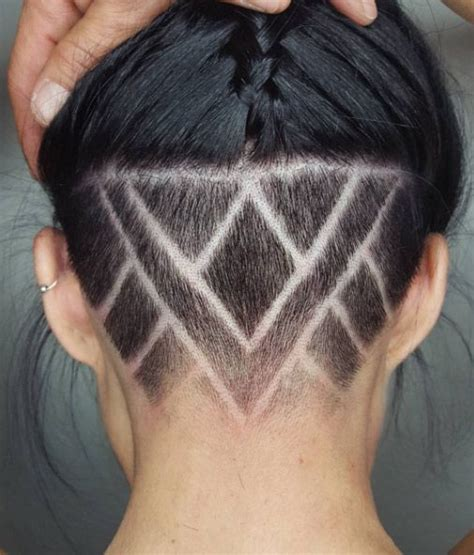 hair cut patterns at the back and side best 20 shaved nape ideas on pinterest undercut