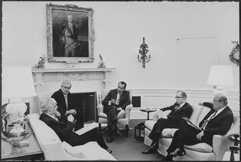 file richard m nixon meeting with some cabinet members in